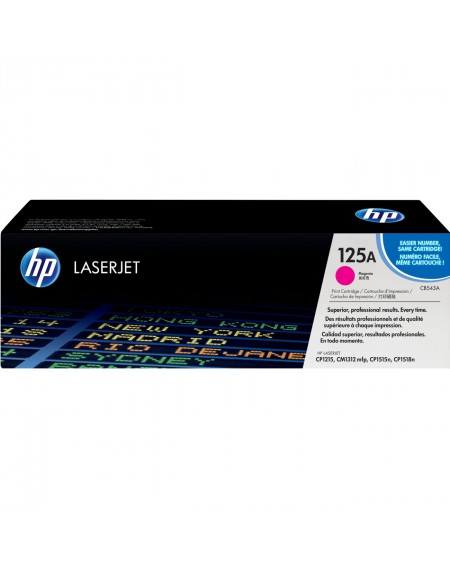 Toner Magenta Color LaserJet CP1215