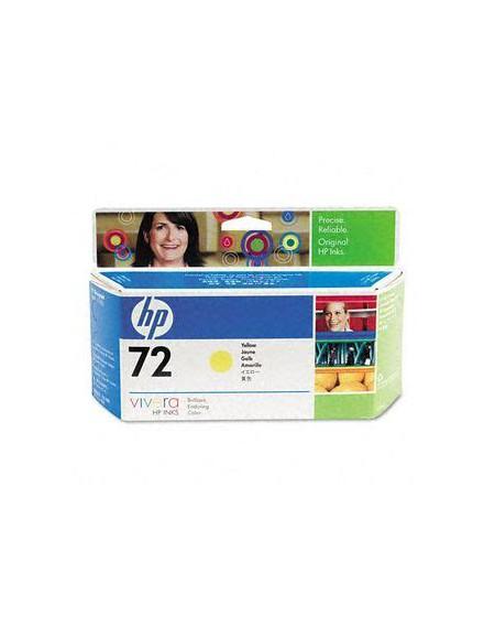 Cartouche HP Jaune N°72 T1100